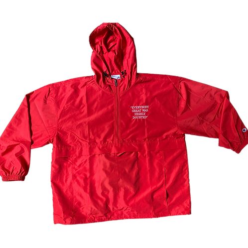 Everybody Great Red Pullover Jacket