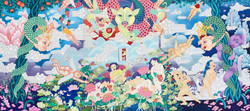 The Gate of Love_130.3x291.0cm_2014