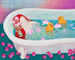 Ophelia's bathtub_72.7x91.0cm_2015.jpg
