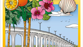 Local Artist Creates a Vero Beach Coloring Book to Commemorate her Home Town