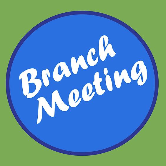 Branch Meeting