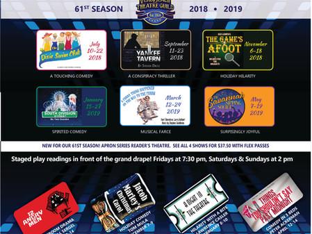 The Vero Beach Theatre Guild announces 2018-19 Season