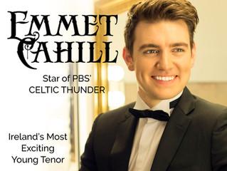 Emmet Cahill Concert March 8, 2020!