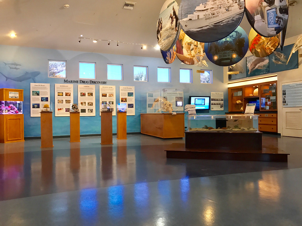 Harbor Brand Ocean Discover Visitor Center