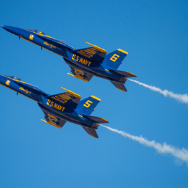 The Blue Angels Are Coming!