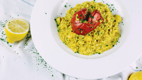 Lobster with Orzo