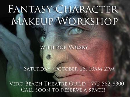 Fantasy Character Makeup Workshop