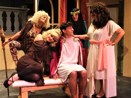 A Funny Thing's Happening at  Vero Beach Theatre Guild