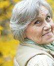 Older Woman Outside