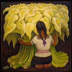 Indigenous Woman with large flowers.JPG