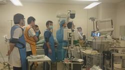 緊急内視鏡、消化管出血止血術