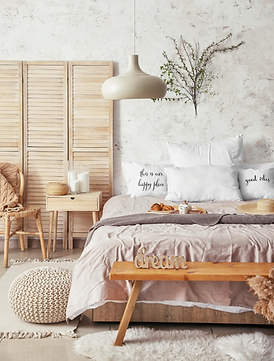 Beautifully designed bedroom - Airbnb managed property