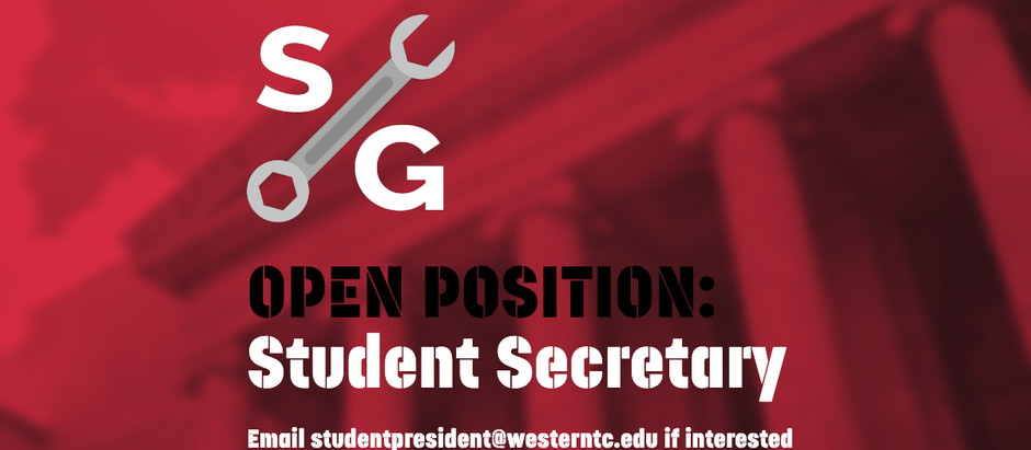 Student Leaders Wanted!