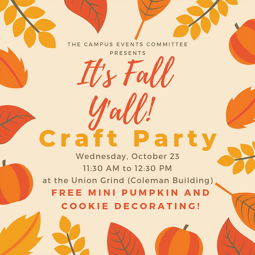 Fall Craft Party