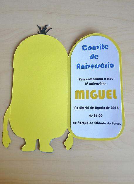 convite minium