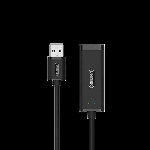 UNITEK (Y-3470) Black USB3.0 Gigabit Ethernet Converter Cable