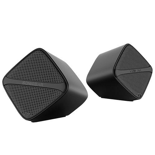 SONICGEAR SoniCube (Black) 2.0 USB Speaker