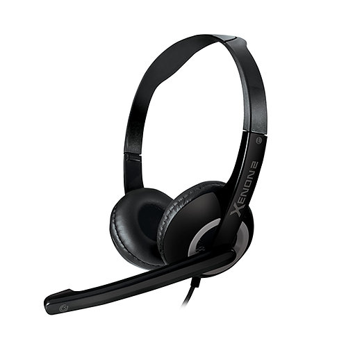 SONICGEAR Xenon 2 (Grey) 3.5mm Headset with Microphone