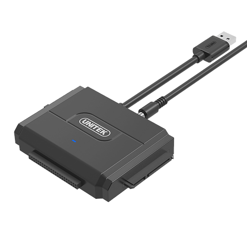 Unitek (Y-3324) USB3.0 to IDE+SATA CONVERTER with Power Adaptor