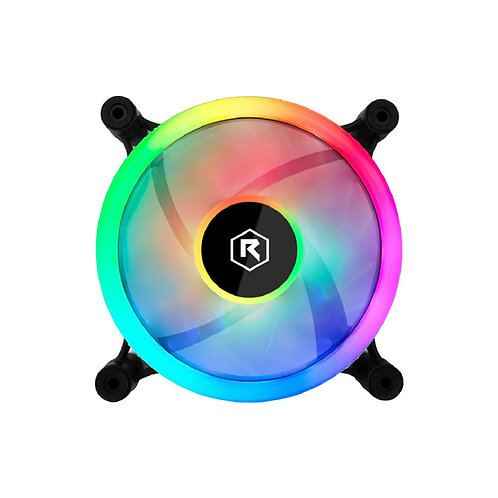Rotanium Multi-Colorful (OI21-A) Triple Ring RGB Case Fan