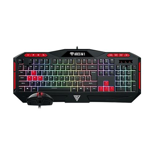 Gamdias ARES (M1) Membrane Keyboard + ZEUS E2 Optical Mouse Combo