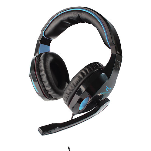 ALCATROZ Alpha MG300A (Black & Blue) 3.5mm Headset with Microphone