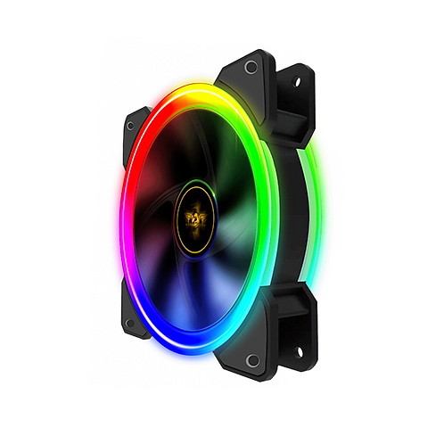 Armaggeddon New Infineon Loop RGB 120mm (3 Pack)  RGB  Fan with Control Board