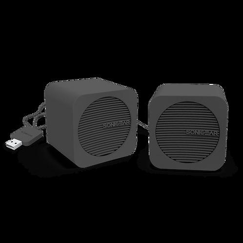 SONICGEAR BlueCube (Black) Bluetooth Speaker