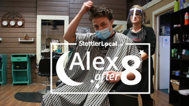 Alex after 8 - It's time for a trim