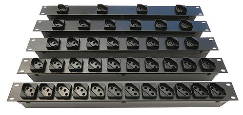 "Régua Rack 19"" Disjuntor - 16 Ampéres"