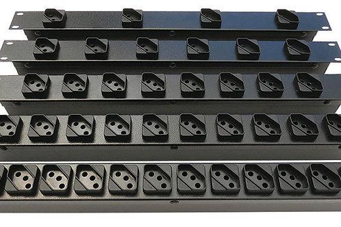 """Régua Rack 19"""" - 10 Ampéres"""