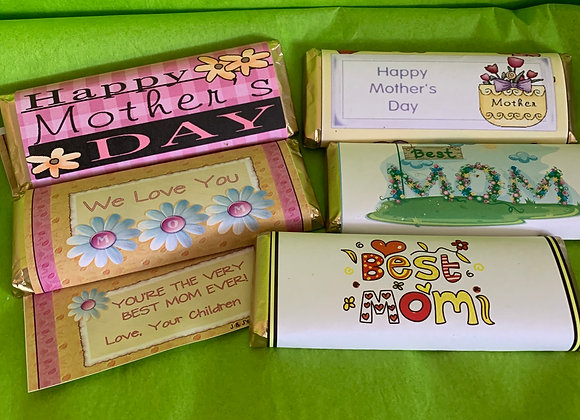 Chocolate Bars, Mother's Day