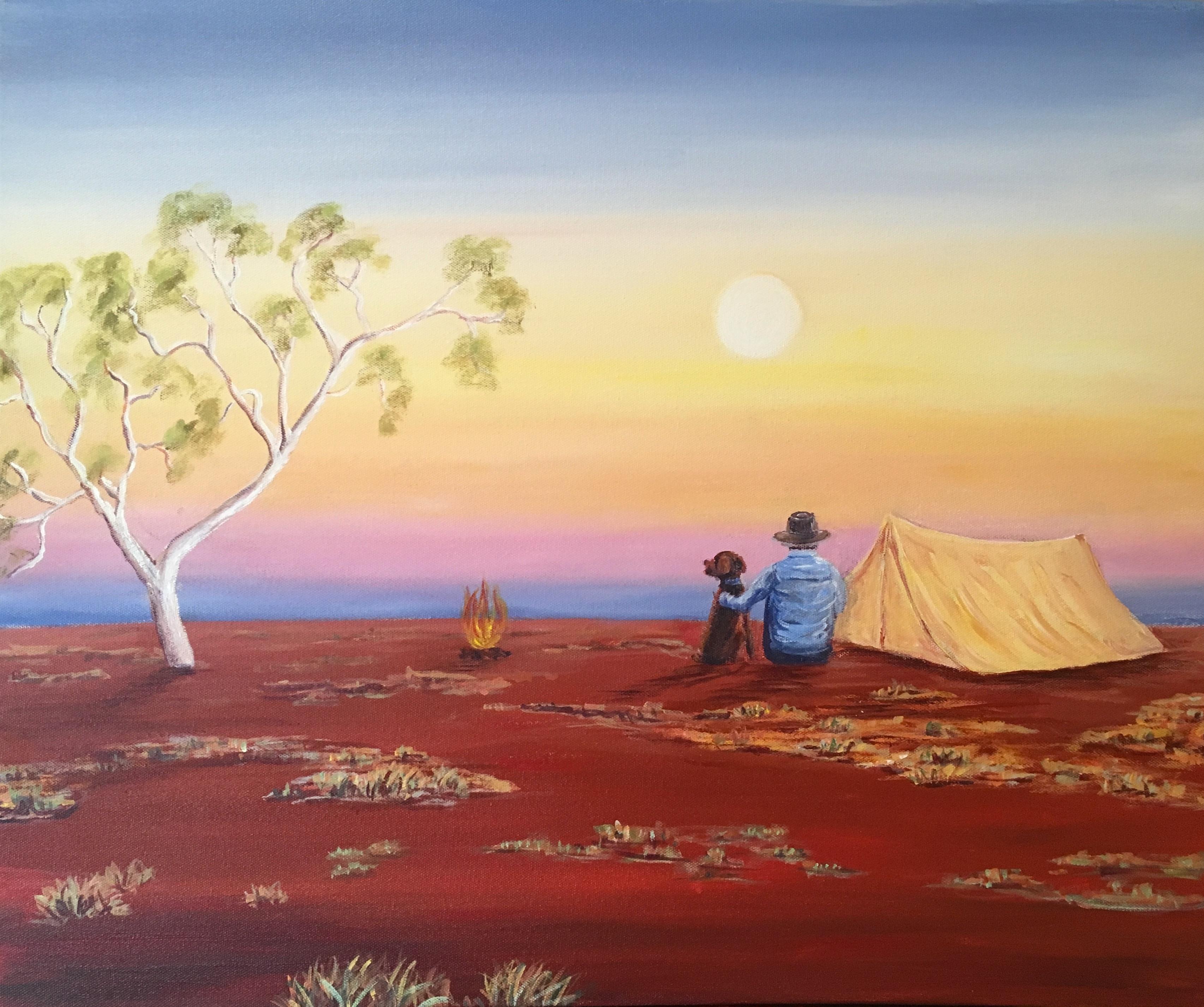 Pilbara camping