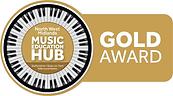 Gold award Music Education Hub.png