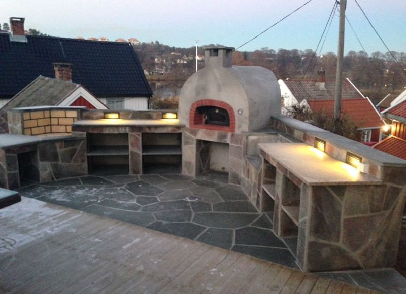 0,70 x 0,80 ovn. Fantastisk uteplass i Grimstad