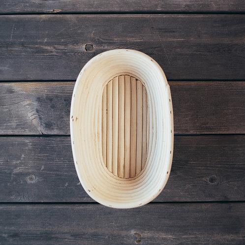 Heveform til gjærbakst, 26 cm lang