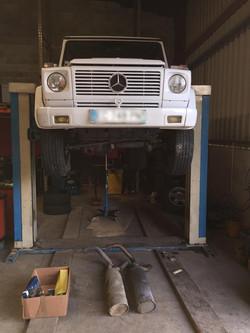 Mercedes Classe G entretien révision, vidange.