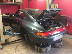 Porsche 993 réfection moteur, restauration.