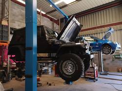 Jeep Wrangler révision et réparation.