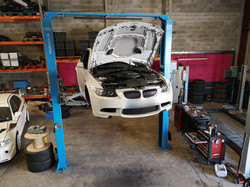 BMW M3 E92 remplacement coussinets de bielles.