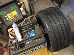 équilibrage pneus