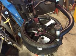 montage pneus