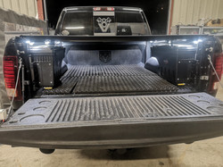 Eclairage LED benne pick-up Dodge RAM, 4x4.