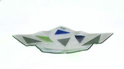 Origami Prato Cores frias 32X32 f