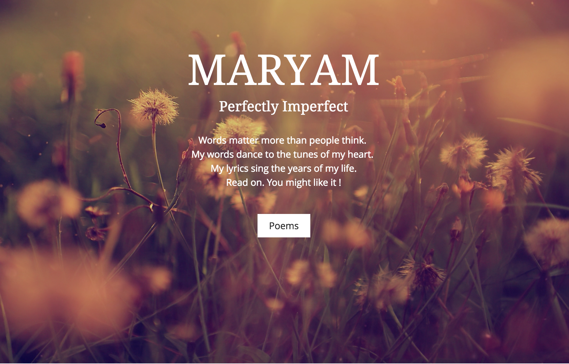 Emirati Poet | maryam
