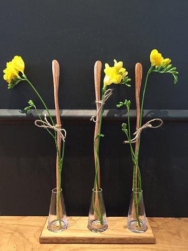Flower Stem Bottle Stand