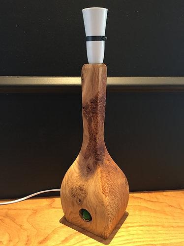 Stunning Natural Finish Oak Table Lamp