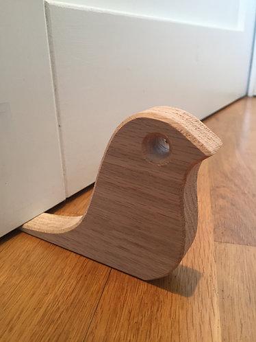 Oak Bird Door Wedge
