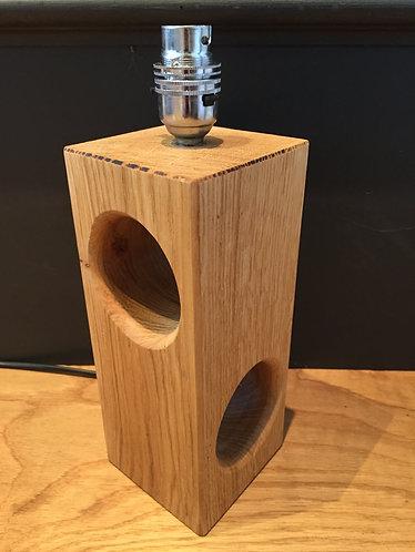 Contemporary Oak Table Lamp