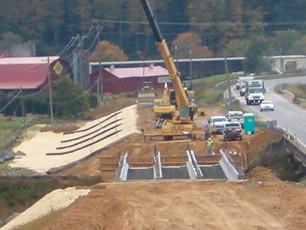 R-2915A, US 221/US 421 Interchange